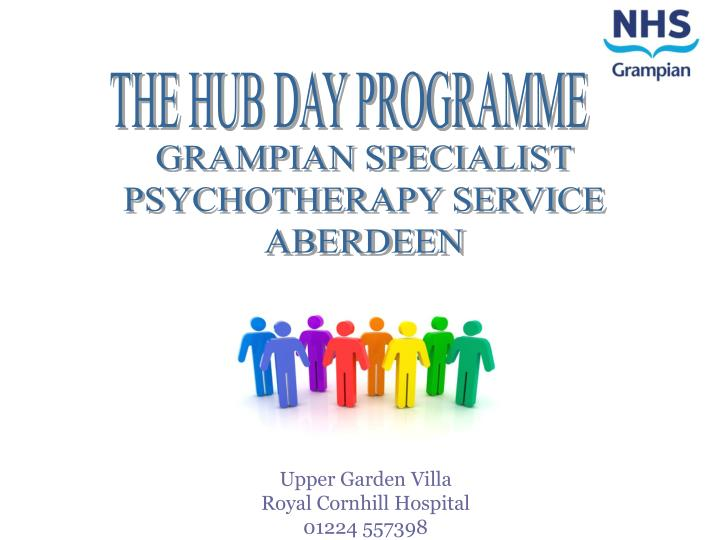 THE HUB DAY PROGRAMME
