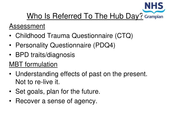 Who Is Referred To The Hub Day?