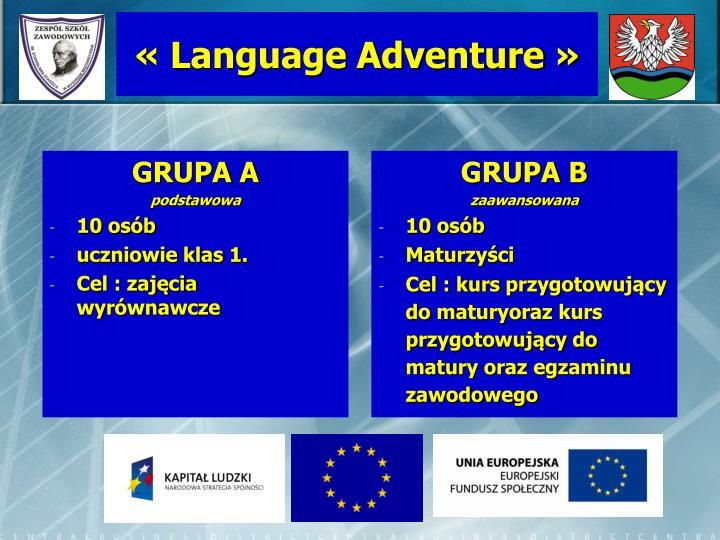 « Language Adventure »