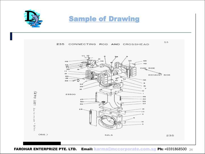 Sample of Drawing
