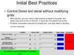 initial best practices4
