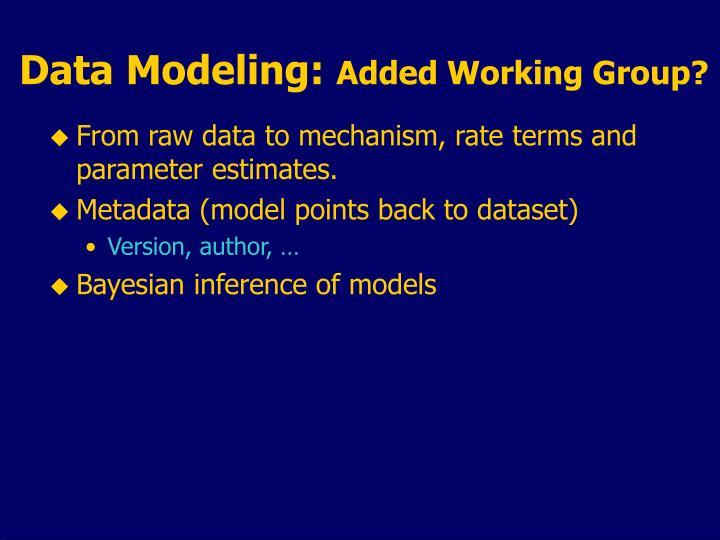Data Modeling: