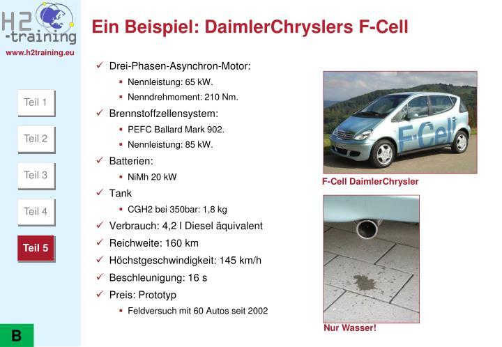 Ein Beispiel: DaimlerChryslers F-Cell