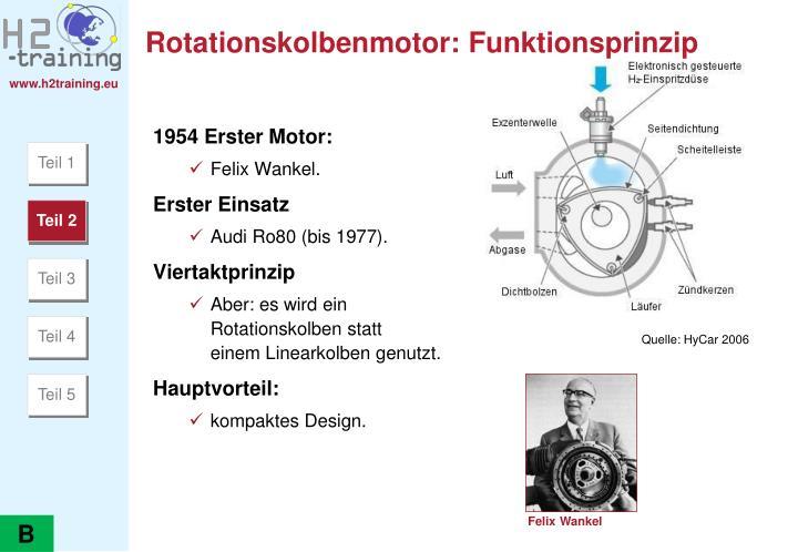 Rotationskolbenmotor: Funktionsprinzip