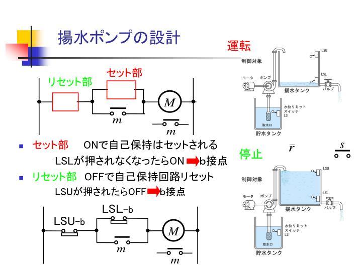 揚水ポンプの設計