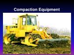 compaction equipment
