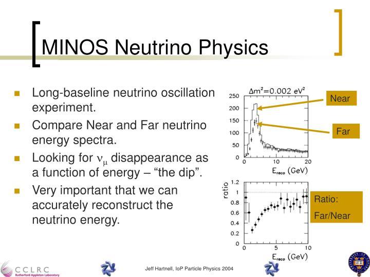 MINOS Neutrino Physics