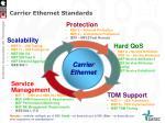 carrier ethernet standards