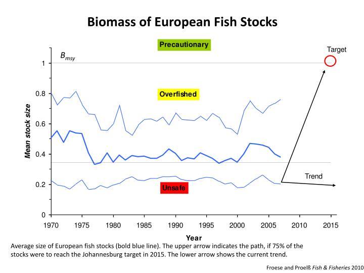 Biomass of European Fish Stocks