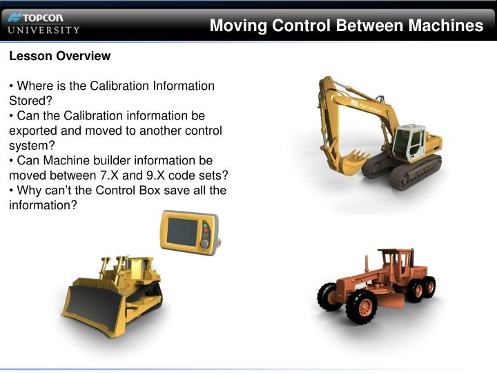Moving Control Between Machines