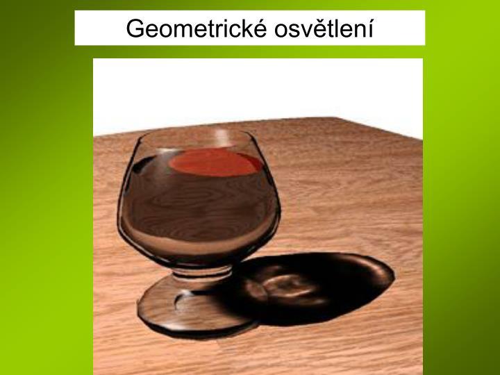 Geometrické osvětlení