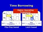 time borrowing
