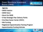 guam workforce investment board gwib