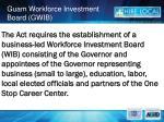 guam workforce investment board gwib3