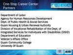 one stop career center partners