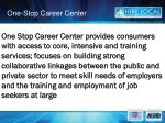 one stop career center