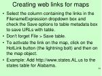 creating web links for maps1