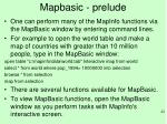 mapbasic prelude1