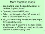 more thematic maps