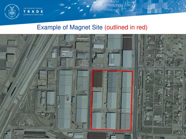Example of Magnet Site