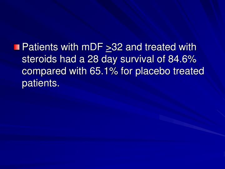 Patients with mDF