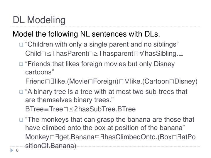 DL Modeling