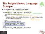 the prague markup language example