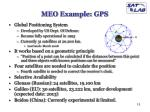 meo example gps