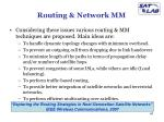 routing network mm