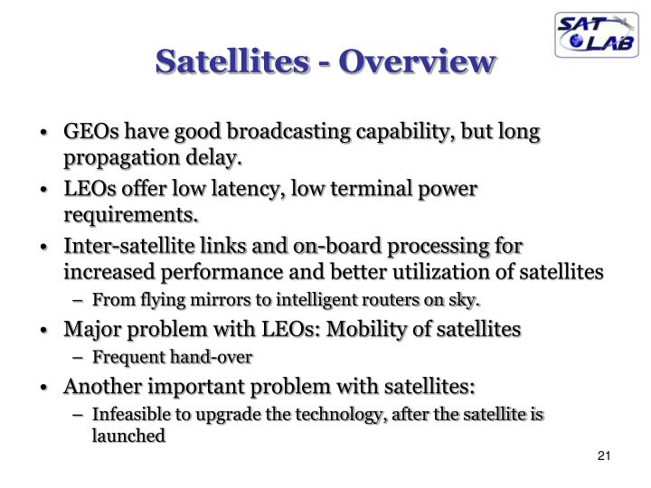 Satellites - Overview
