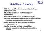 satellites overview