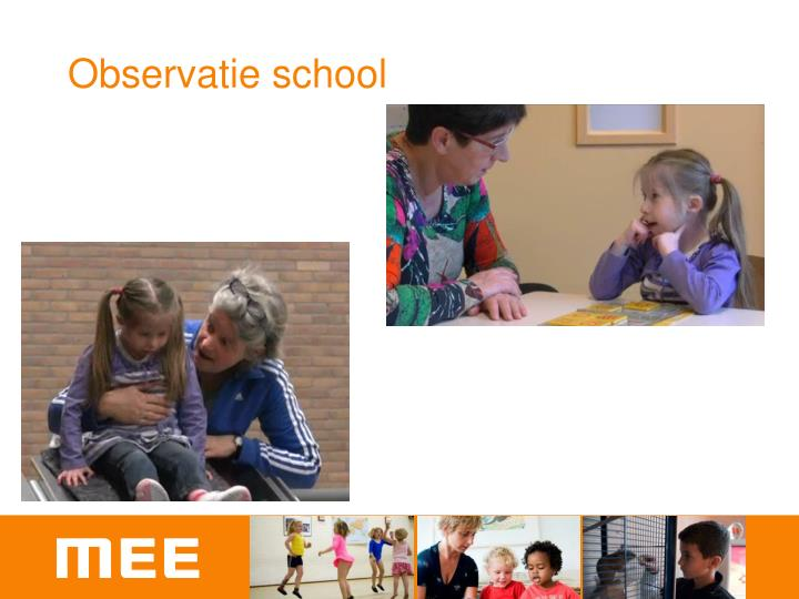 Observatie school