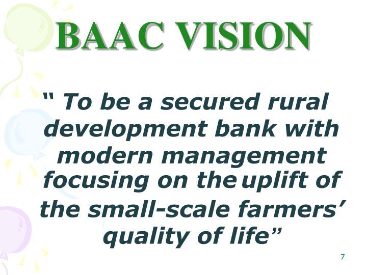 BAAC VISION