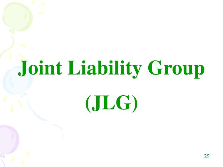 Joint Liability Group
