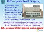 imo specialised un agency