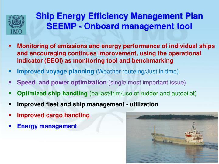 Ship Energy Efficiency Management Plan SEEMP -