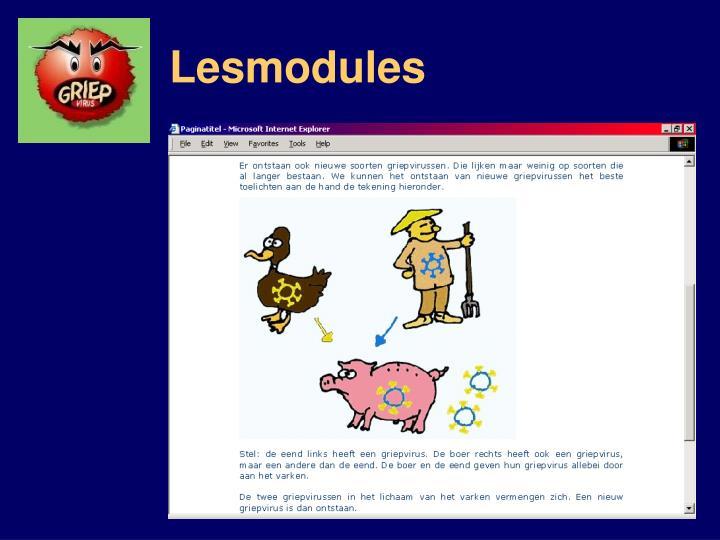 Lesmodules