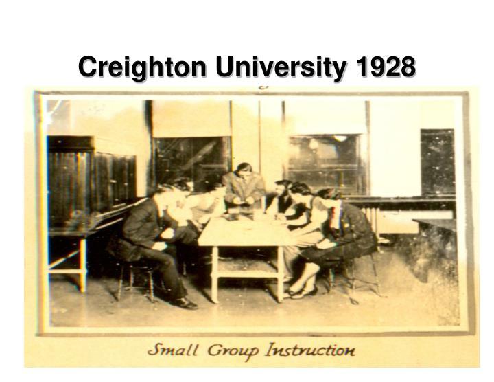 Creighton University 1928