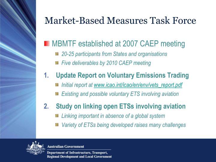 Market-Based Measures Task Force