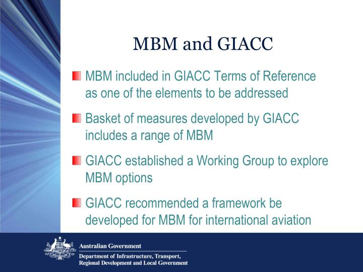 MBM and GIACC