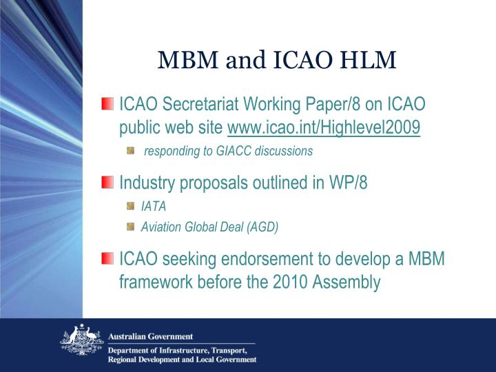 MBM and ICAO HLM