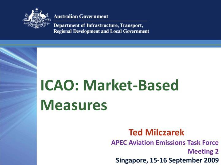 ICAO: Market-Based Measures