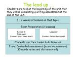 the lead up1