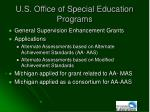 u s office of special education programs