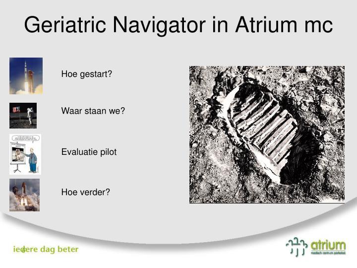 Geriatric Navigator in Atrium mc