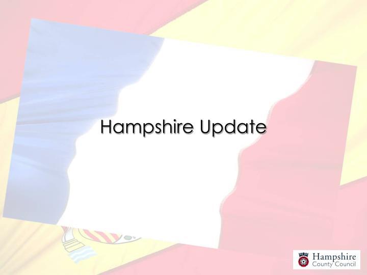Hampshire Update