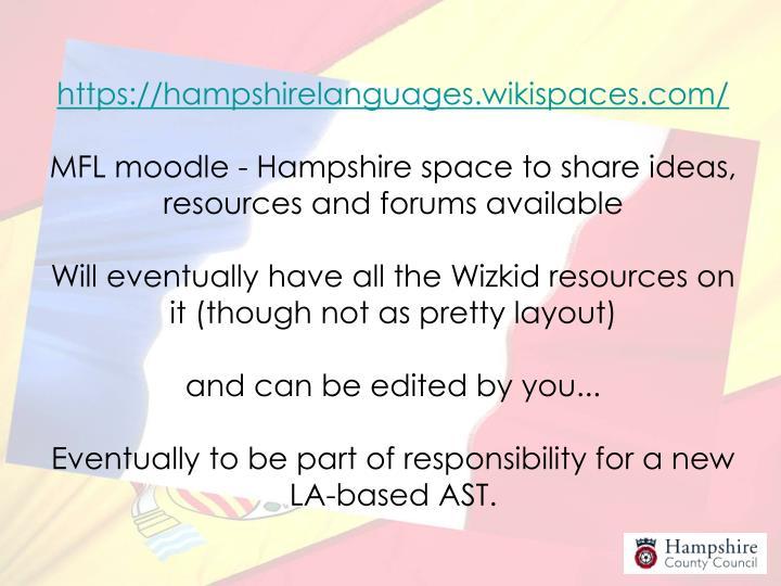 https://hampshirelanguages.wikispaces.com/