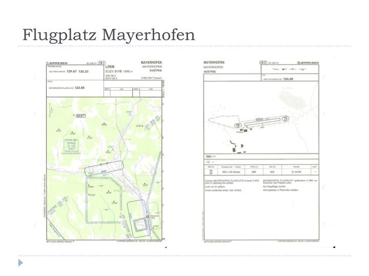 Flugplatz Mayerhofen