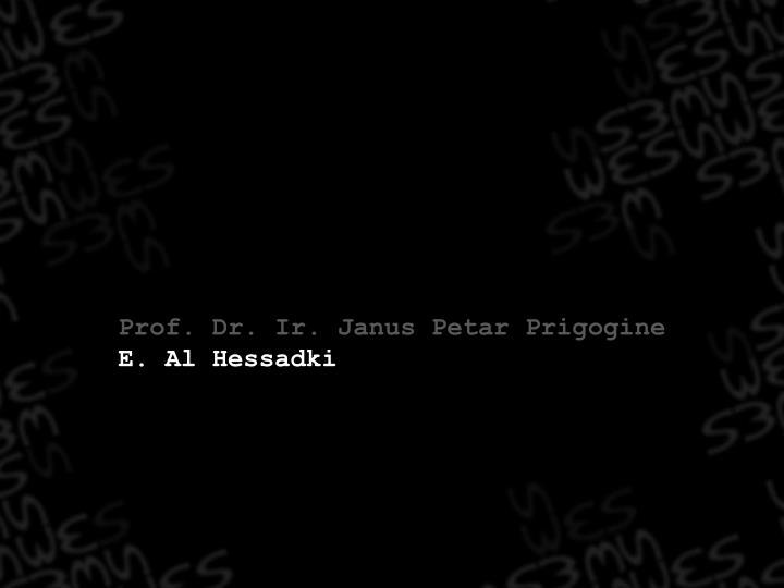 Prof. Dr. Ir. Janus