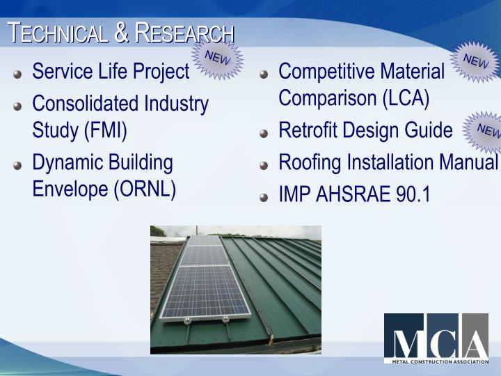Technical & Research